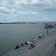 母なる川「松花河」(ハルピン)