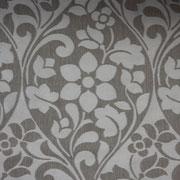 Ткань портьерная Io Арт. Flowery  chocolate 537068/4; высота 312 см; плотность 205г; состав :50,5 % полиэстер ; 37 % хлопок ; 12,5 % вискоза