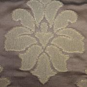 Ткань портьерная Io Арт. Tiara chocolate 537084/4; ширина 138 см; плотность 306г; состав 100% полиэстер