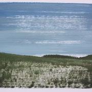 5 - Régénérescence - Huile sur papier canson 65 x 50 cm (format extérieur)