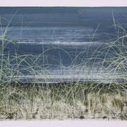 4 - Régénérescence - Huile sur papier canson 65 x 50 cm (format extérieur)