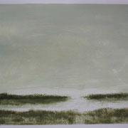8 - Régénérescence - Huile sur papier canson 65 x 50 cm (format extérieur)