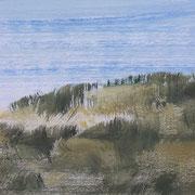 19 - Régénérescence (détail) - Huile sur papier canson 65 x 50 cm (format extérieur)