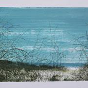 11 - Régénérescence - Huile sur papier canson 65 x 50 cm (format extérieur)
