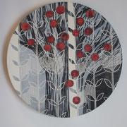 Früchte einer Idee                                                    Ø 40 cm