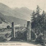 Erst 1764 wurden am Galgen von Ernen die letzten drei Missetäter hingerichtet.