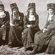 Die schönsten Frauen trifft man im Wallis.