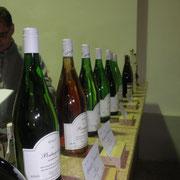 Die erlesene Weinauswahl