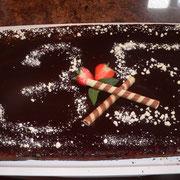 Schokokuchen mit viel Schokolade