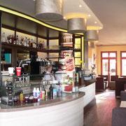 Das Café Flair hat innen auch viel zu bieten