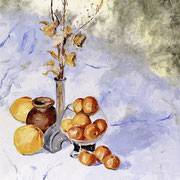 1. Tangerines - 2002 SIze: 31.5x23.6 in
