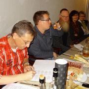 von links: Thomas Weisbach, Mario Werner, Wilfried Löffler, Ingrid Löffler