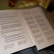 Satzung mit den Unterschriften