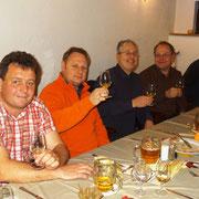 von links: Ralph Kühn, Jens Taubert, Ralf Schulze, Dirk Hunecke