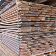 Douglasienholz im Riftschnitt gefertigt