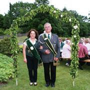 Seniorenbeste:  Doris Rüchel und Willi Bebba
