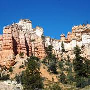entlang des Brice Canyon