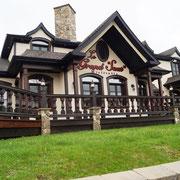 eines der besseren Häuser im Ort