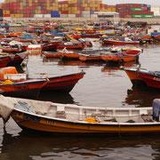 Fischerboote am Hafen