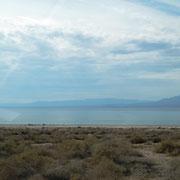 der See, leider tod - durch zu hohen Salzgehalt