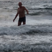 ... und im Meer.