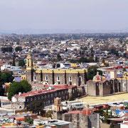 Blick über Puebla