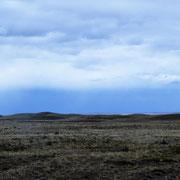 endlose (öde) Landschaft