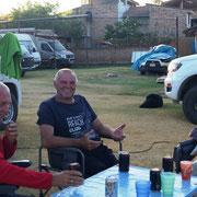 ... mit Gary und Siggi