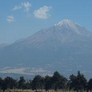 auch hier gibt es Schneebedeckte Berge!