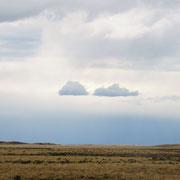 aber das Wolkenspiel ist interessant