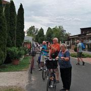 Radtour nach Balatonlelle