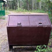 Bärengesicherte Mülltonnen