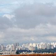 der letzte Blick auf Brasilia