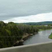 Der Saint John River begleitet uns