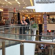der letzte Tag in Brasilia - ein supermodernes Einkaufscentrum
