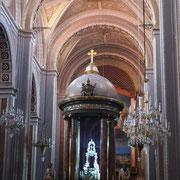 im inneren der Kathedrale ...