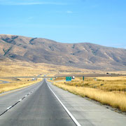 wir fahren in Utah ein
