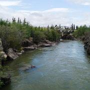 unterwegs am Fluß
