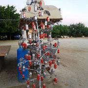 Auch ´ne Möglichkeit für einen Weihnachtsbaum (nicht unserer!)