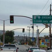 Einfahrt in Tecate