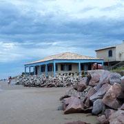 noch Bilder aus Hermenegildo - Häuser bis an das Wasser gebaut