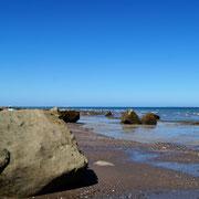 Strandspaziergang bei Ebbe