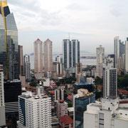 von oben ist Panama City schon beeindruckend!