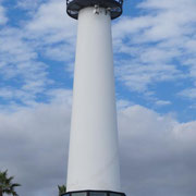 Leuchtturm im Park