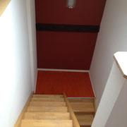 Gäste-Appartement/Monteurzimmer: Der Aufstieg bis unters Dach