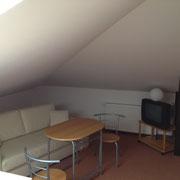 Gäste-Appartement/Monteurzimmer: Schlafcouch