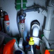 Undichter Spülmaschinenanschluss