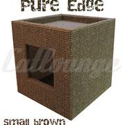 Kratzturm Small Pure Edge brown front/rechts