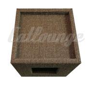 Kratzturm Small Pure Edge brown top