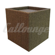 Kratzturm Small Pure Edge brown hinten/links